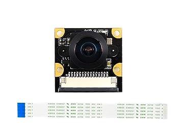 2cb2421692a51 Waveshare IMX219-160 Camera for NVIDIA Jetson Nano Developer Kit IMX219  Sensor 3280 × 2464 Resolution 8 Megapixels 160 Degree Angle of View