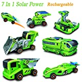 BangBang 7 In 1 Rechargeable Solar Power Car Kit Educational Toy