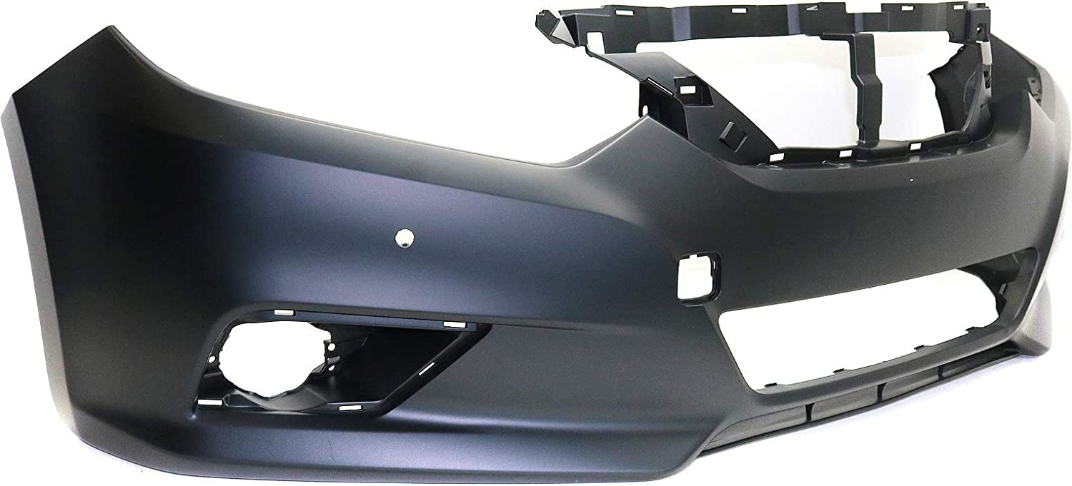 Front Bumper Cover for NISSAN ALTIMA 2016-2018 Primed with PDC Sensor Holes