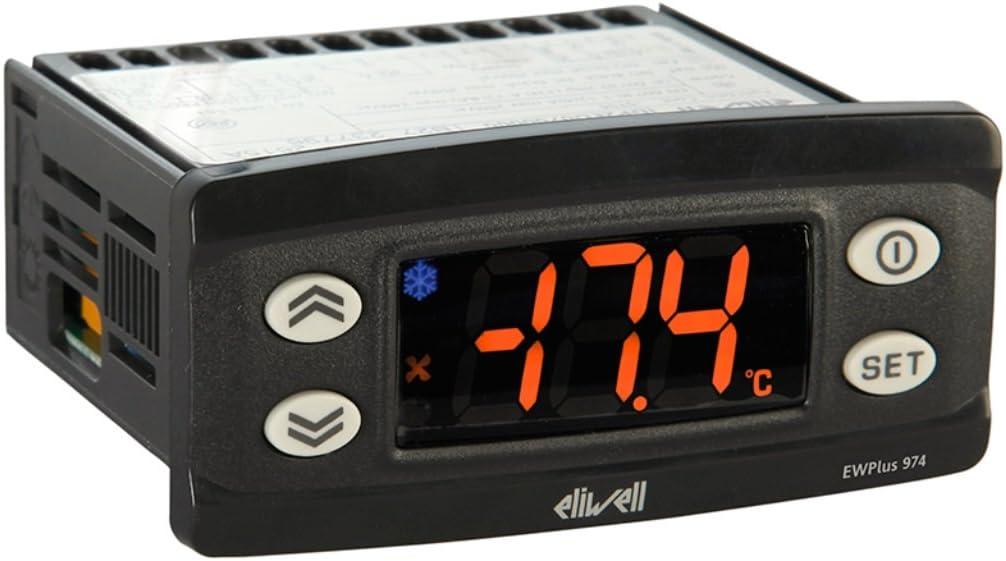Controllore elettronico temperatura per unit/à refrigerate 230 Vac Eliwell IDPlus 974