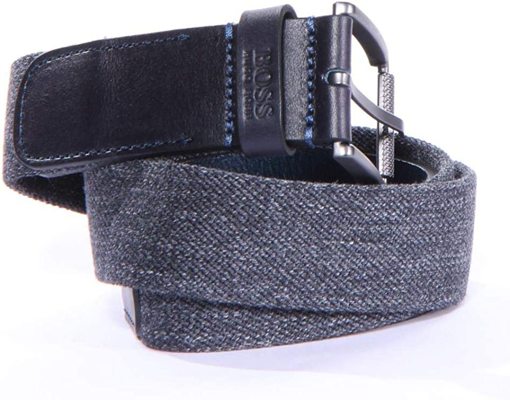 Hugo Boss Mens Tint/_Sz35 Belts 91/% Polyester 9/% Elastane Brand New