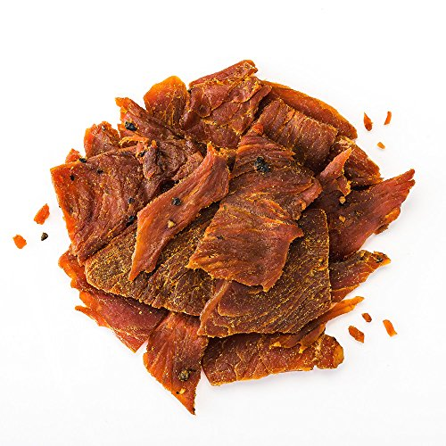 Perky Jerky Sweet and Snappy Turkey Jerky, 14oz - High Protein Snack 10g, Low Fat, Handcrafted, Tender Texture, Bold Flavor.