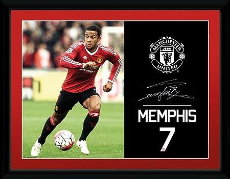 GB eye, Manchester United, Depay 15/16, Fotografia Enmarcada, 40 x ...