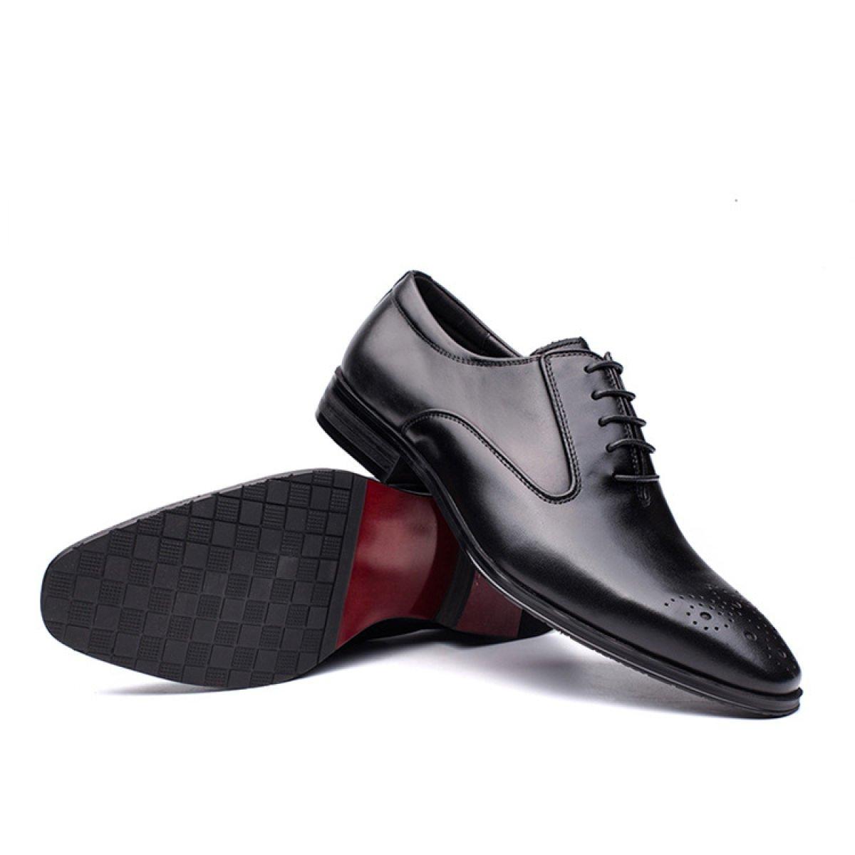 ZPFME Männer Business Casual Schuhe Wies Lace Mens Up Brogues Schuhe Mens Lace Klassische Hochzeitsschuhe 208c58