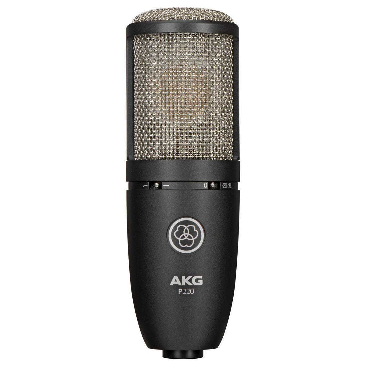 AKG Vocal Condenser Microphone, Black, 6.00 x 8.00 x 12.00'' (3101H00420) by AKG (Image #1)