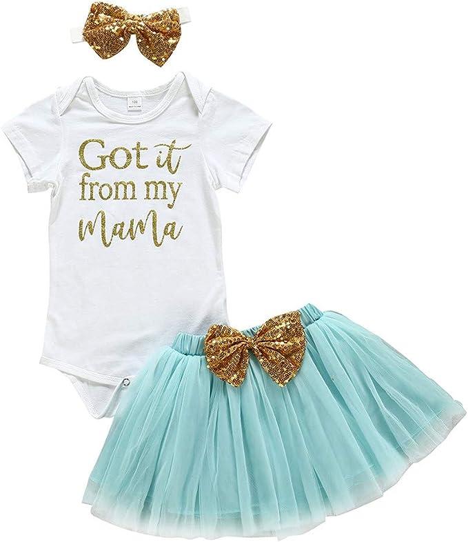 Heetey - Pijama para el día de la Madre, recién Nacido, bebé, niña ...