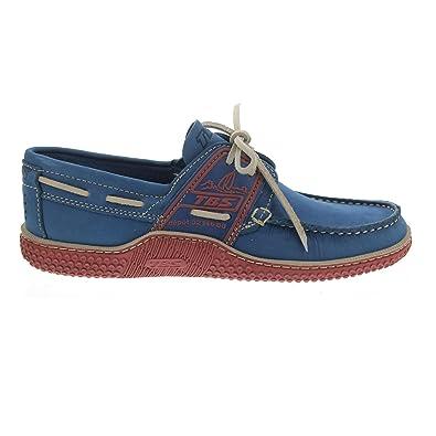 e19139f9612ad0 TBS Globek - Chaussures Bateau Bicolores pour Homme Bleu/Rose 39 40 Bleu /Rose