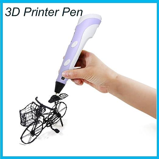 3D impresión Pluma,con pantalla LED, para Modelado 3D dibujos 3D ...