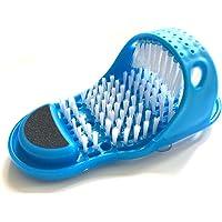 ColorJoy Semplice Piedi Cleaner Foot Scrubber Ciabatta Doccia Spa Facile Pulizia Spazzola esfoliante