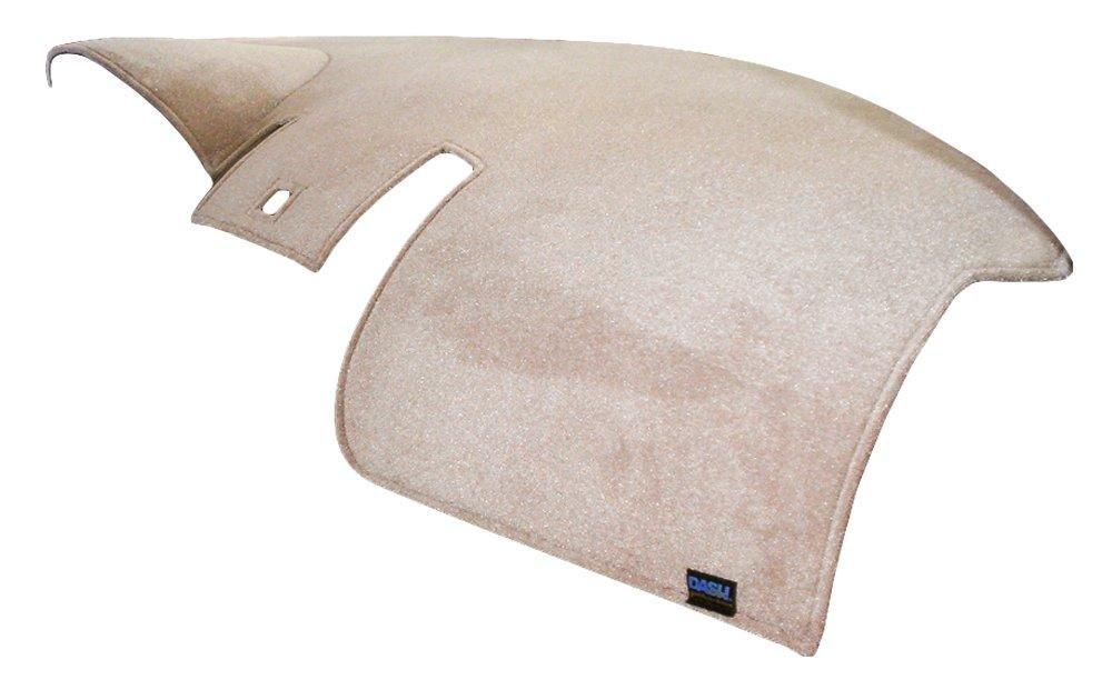 Dash Designs D2140-0BBK Black Brushed Suede Dash Cover