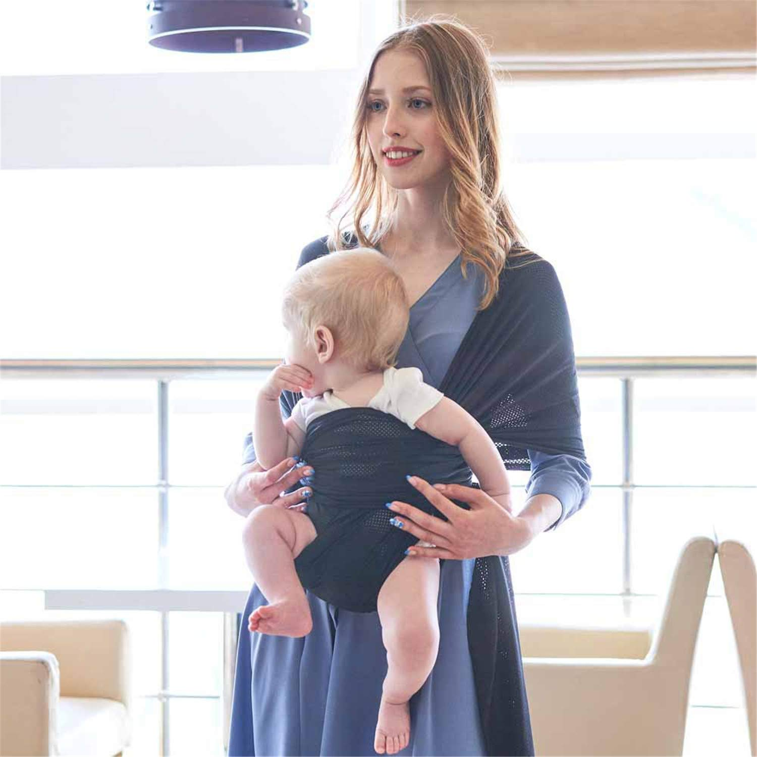 BABIFIS Baby Carrier Sling For Newborns Summer Breathable Wrap Soft Infant Wrap Hipseat Breastfeed Comfortable Nursing Cover
