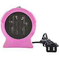 Mini Appareil de Chauffage électrique Portatif d'hiver de Ventilateur de Chauffage 220V Pour Bureau à La Maison de Bureau, 200W, Bleu ou Rose