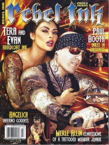 Rebel Ink July 2009 Tera & Evan Merle Allin Murder Junkie Paul Booth Angelica