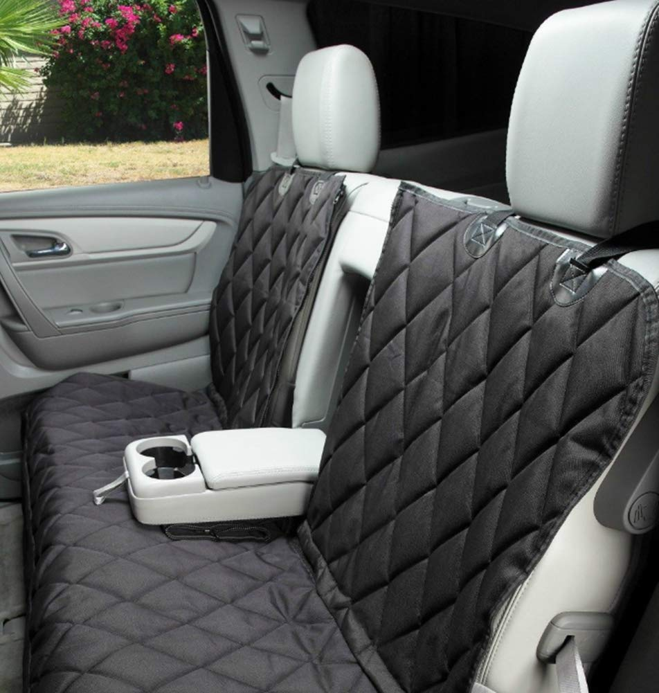 Dog Car Seat Covers Waterproof Scratch Proof Nonslip Back Heavy Duty Non-Slip Pet Seat Predector for Cars Trucks & SUV with Seat Anchors
