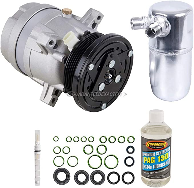 For Chevy C10 C20 C30 K5 Blazer Buick Regal AC Compressor w//A//C Repair Kit BuyAutoParts 60-81863RK New