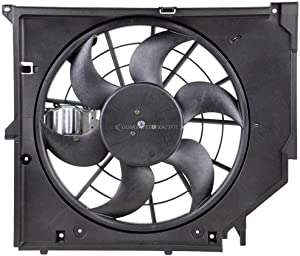 Radiator Cooling Fan Assembly For 320i 323i 325i 328i 330i xi & ci E46 - BuyAutoParts 19-20046AN New