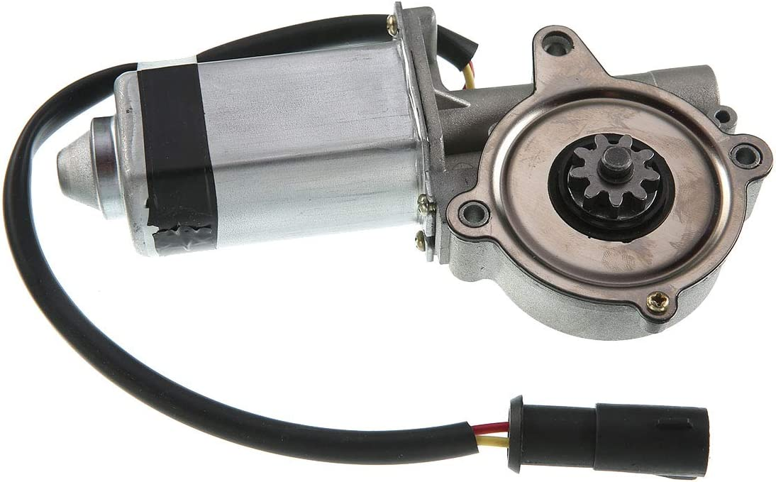 A-Premium Power Window Lift Motor Without Anti-Clip Compatible with Ford Thunderbird Mercury Cougar 1987-1988 Front Passenger Side