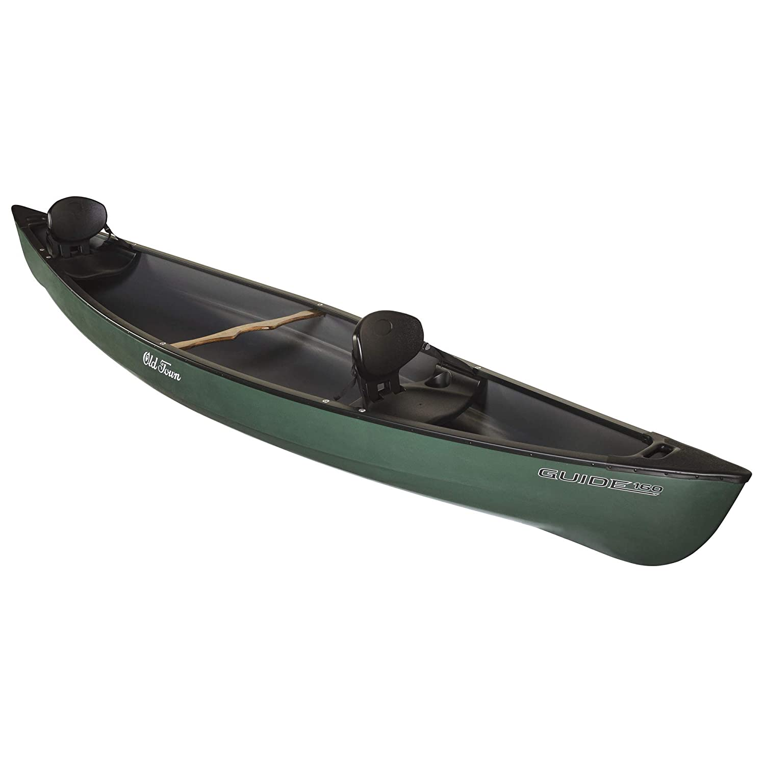 Amazon com : Old Town Guide 160 Recreational Canoe, Green