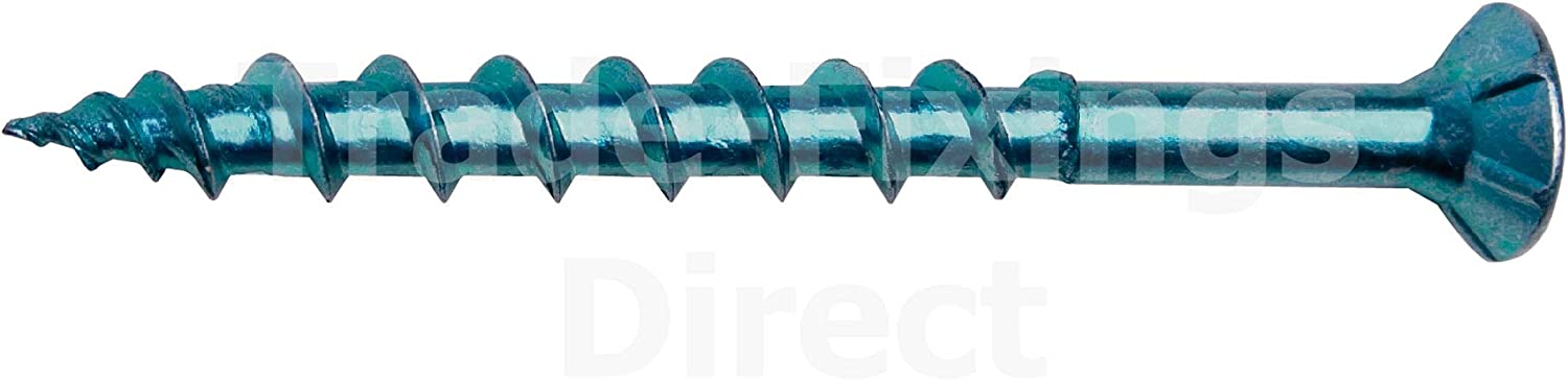 Box of 200 4.2 X 45MM Genuine Floor-TITE/® Flooring Screws Free Next WORKNG Day DELIVERY TFFT4245 Blue Coated