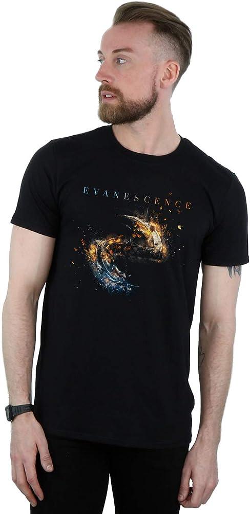 Absolute Cult Evanescence Mens Creation Logo Shirts