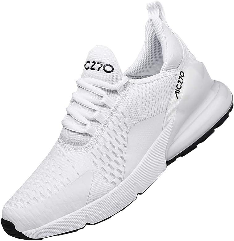 SINOES 270 2020 para Mujer Cuña Cómodos, Zapatillas Sneaker Calzado Deportivo de Exterior de Mujer Plataforma Calzo Aptitud para Ligero Zapatos: Amazon.es: Zapatos y complementos