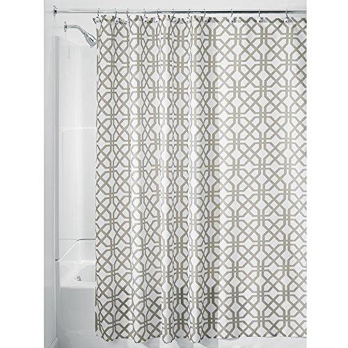 InterDesign Trellis Fabric Shower Curtain - Stall 54