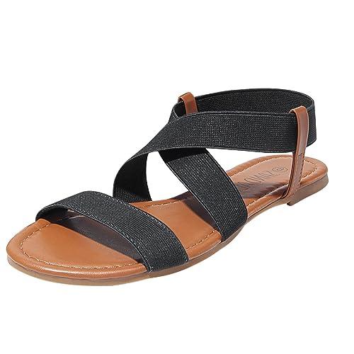 Sandalup Sandalia Cordón Elástico Con Sandalup Elástico Sandalia Cordón Sandalup Con Lq35Aj4cR