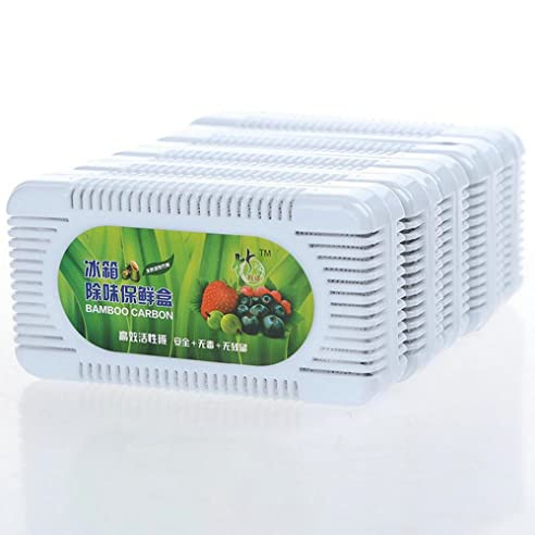 Charcoal Aktivkohle Crisper Kühlschrank entfernen Geruch Box 80 g ...