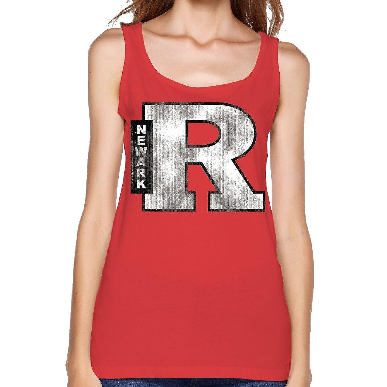Women's NCAA Rutgers University Rutgers Newark Scarlet Raiders Logo Tank Top-