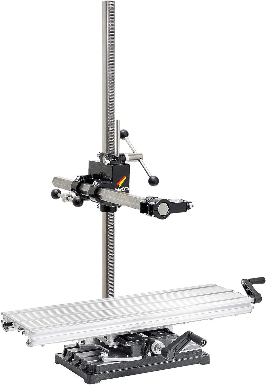WABECO – Soporte para fresadora (bf1244 con mesa de coordenadas K600 Vertical/Horizontal columna 1000 Extensiones 500 mm: Amazon.es: Bricolaje y herramientas