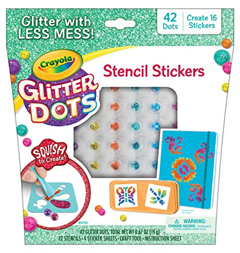 Glitter Dots Stickers is a new toy for girls in 2019