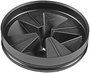 InSinkErator QCB-AM Anti-Microbial Quite Collar Sink Baffle for Evolution Series, Black