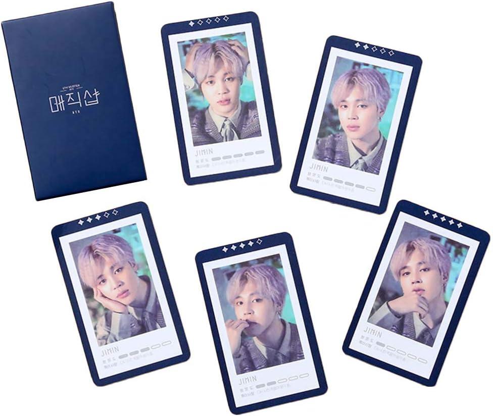 H04 Tiyila 5pcs//set BTS MUSTER MAGIC SHOP Photocard Fans Made Lomo Card