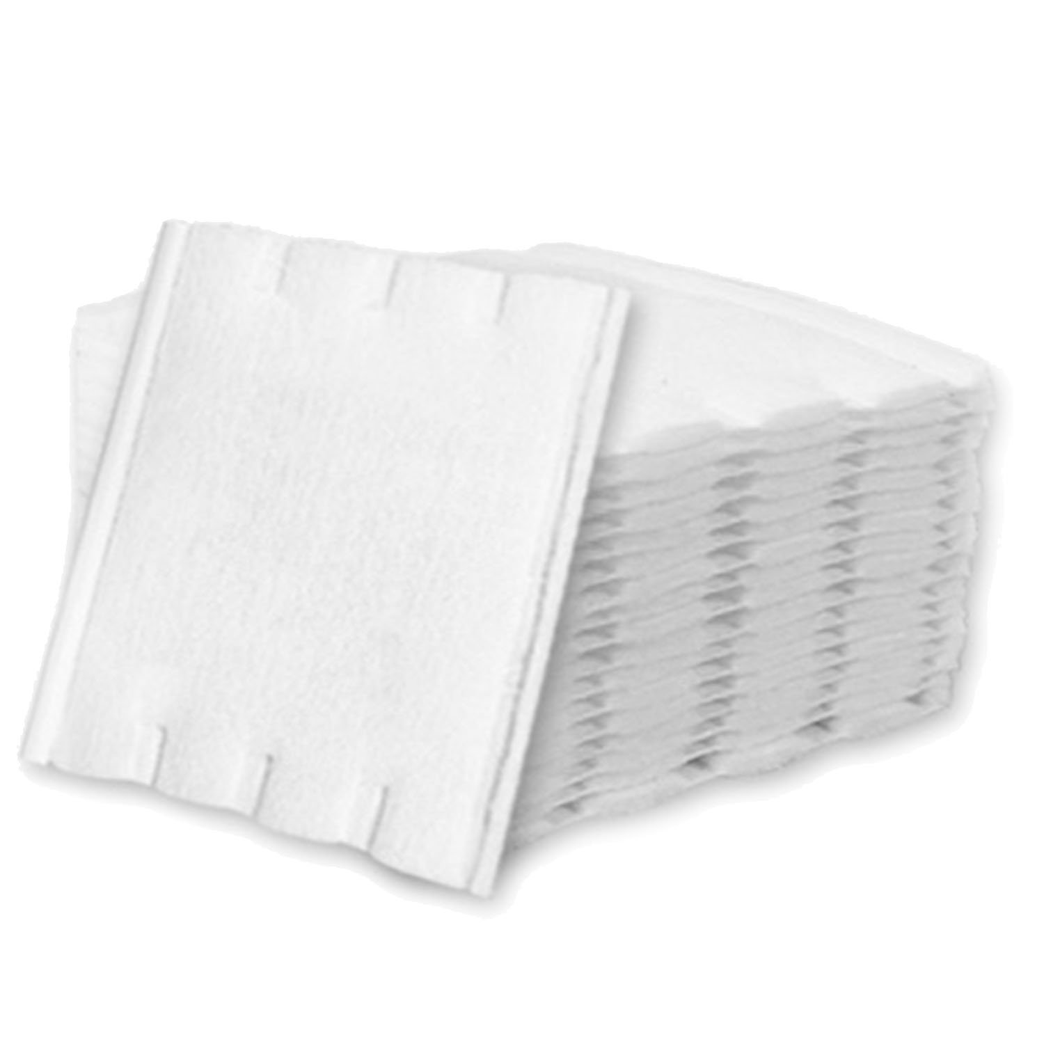 200 Pcs 3-Layer Cosmetic Makeup White Cotton Facial Cleansing Pads Cotton Puff Vococal