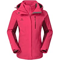 Camel Crown 3-in-1 Women's Waterproof Ski Jacket
