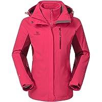 Camel Crown 3-in-1 Women's Waterproof Ski Jacket (Multi Color)