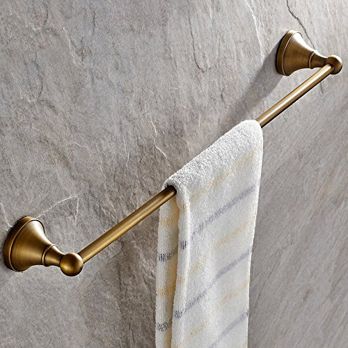 70%OFF Leyden Antique Bathroom Accessories Brass Towel Bar Home Decor Towel Holder Towel Bars Wall maounted