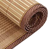 WENZHE Mattresses Cooling Mattresses Bedding Straw Mat Summer Sleeping Mats Bed-mat Single Bed Student Dorm Room Bedroom Multifunction, 0.8/0.9/1.0m Pad (Color : B, Size : 0.9×1.9m)