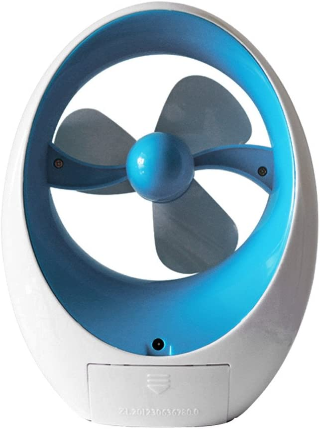 Personal Portable Adjustable Air Flow Cooling Cool Fan Low Noise Rechargeable Desktop Battery Operated Cool Air for Indoor Outdoor Office Household SOOTOP Mini Desktop Bladeless Handheld Fans