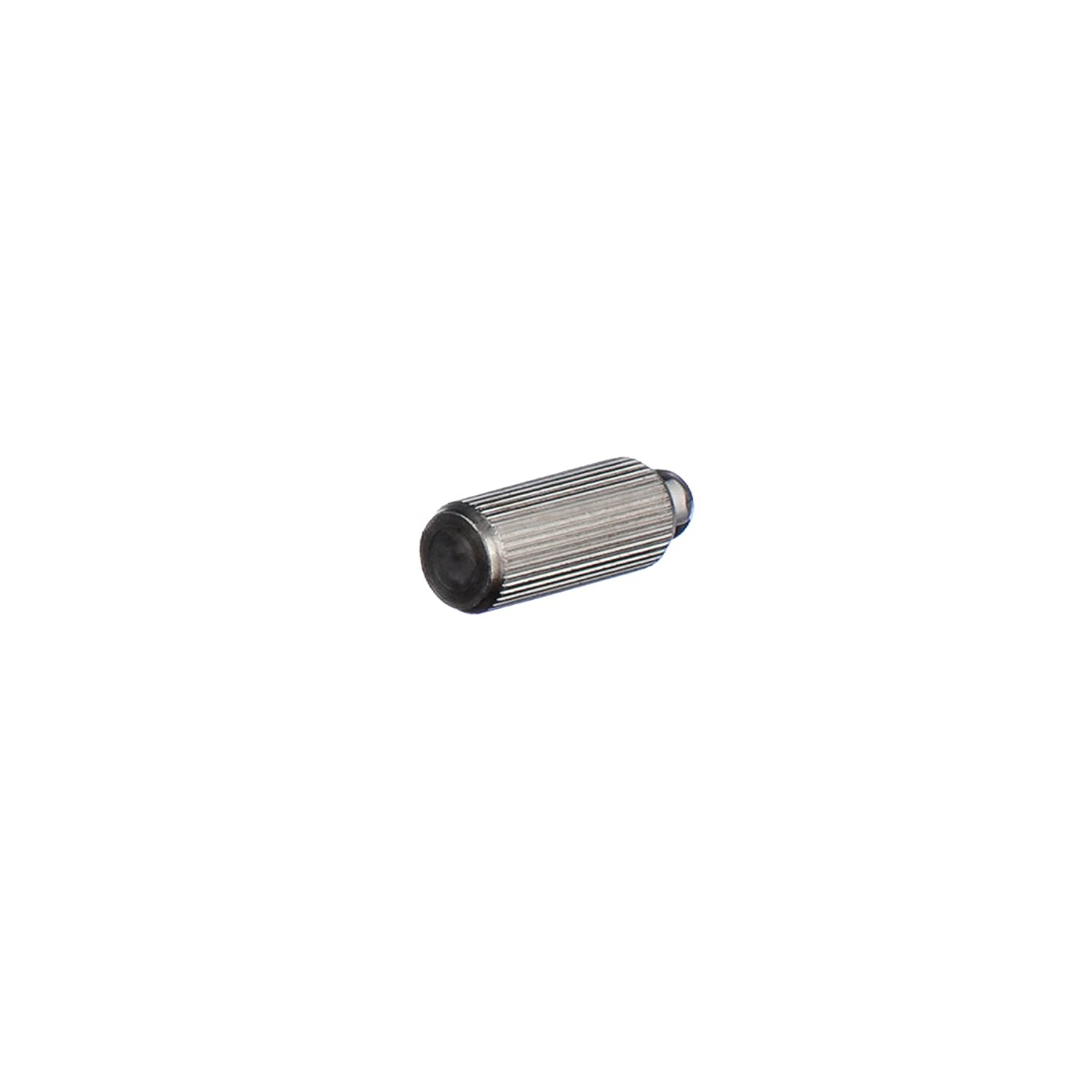 Vlier SPFPK53 Stainless Steel knurled Press-Fit Ball Plunger .254 ANSI Outside Thread