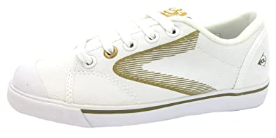Dunlop Size 9 Women s 1555-1987 Canvas Trainers  Amazon.co.uk  Shoes ... afd0df8b7a