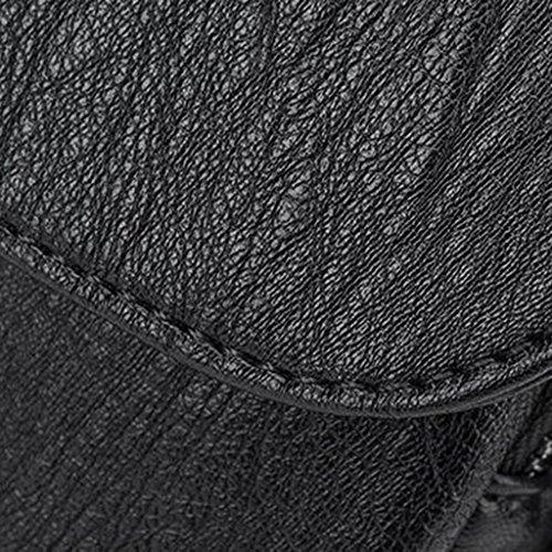 26 Borsa 30 Tempo Donna Accessori Per Femmina Nero Il Liu Libero dimensioni; 15 Di Pu In Zaino Cm Orso Inviare Pelle Moda BxTpEwEHq