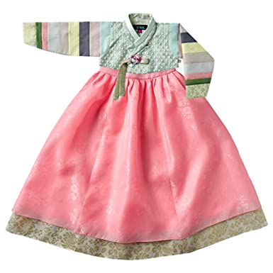 620ed5cfad77 Korean Beautiful Girl's Traditional Clothing Hanbok Dress Baby Girl Clothes  Birthday New Year Party Jung-