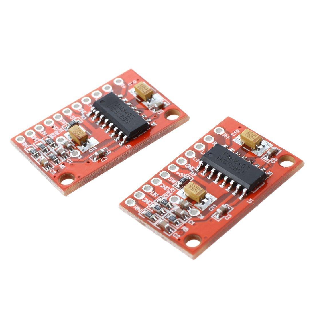 MagiDeal Amplificador de Audio LM386 Módulo 200 Veces 5 V 12 V ...