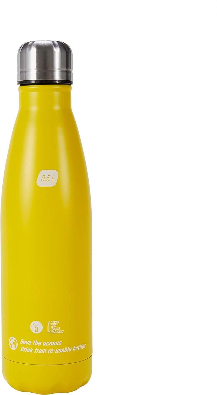 Cressi Water Bottle H20 Sportflasche aus Edelstahl 500 ml