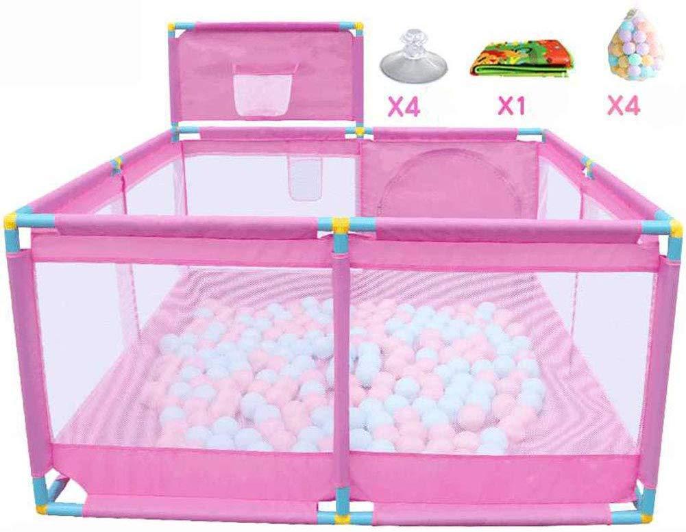 Parque Infantil Playard Baby portátil con Canasta de Baloncesto ...