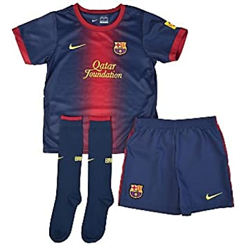 6665b8a8152 2012-13 Barcelona Home Nike Infants Kit, Footballs - Amazon Canada