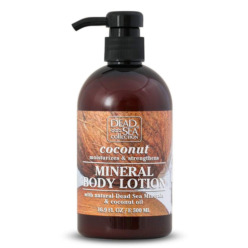 Dead Sea Collection Mineral Body Lotion with Coconut to Moisturize and Strengthen 16.9 fl. oz.