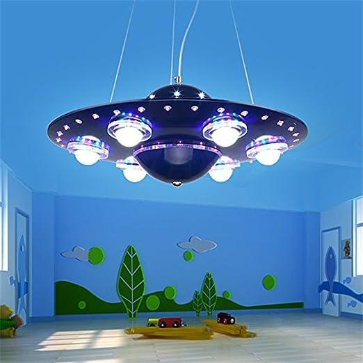 malovecf soffitto dimmerabile con telecomando UFO colorato lampadario  lampada da soffitto bambini camera da letto lampada
