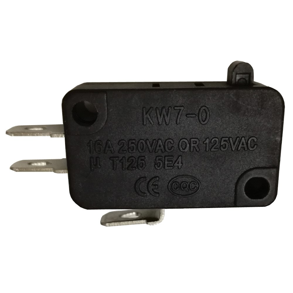 20pcs 16A 250VAC/125VAC T125 5E4 Microswitch Micro Switch Sensitive Switches for Household Appliances, Electronic Equipment, Automobile Electronic Technology, Automation KW7-0 Fuzhou hunter co. ltd